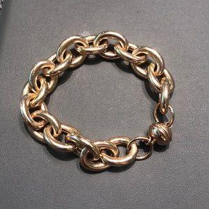 Bronze Milor (Italy) link bracelet